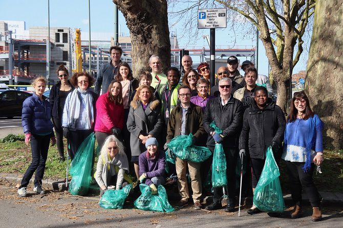 chiswick clean up
